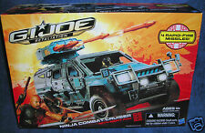 GI JOE RETALIATION NINJA COMBAT CRUISER NIGHT FOX COBRA G I LEGEND RISE RENEGADE
