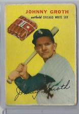 1954 Wilson Franks (Weiners) Johnny Groth Card Poor To Fair Condition