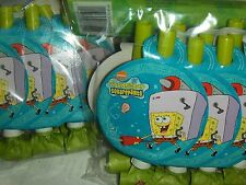 16 SpongeBob Squarepants  Party Blow outs Birthday Party Carnival Favor