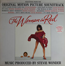 "THE WOMAN IN RED - STEVIE WONDER  12""  LP  (Q35)"