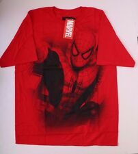 Marvel Comics The Amazing Spider-Man Men Red Black T-shirt NWT Size L