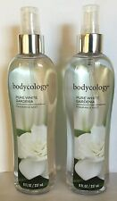 2 Bodycology Pure White Gardenia Fragrance Mist    8.oz EACH
