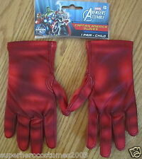 The Avengers Captain America Child Gloves Marvel Comics Brand New