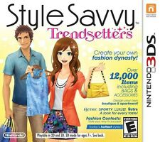 Style Savvy: Trendsetters - Nintendo 3DS Game