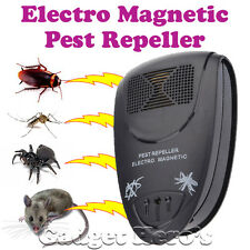 Ultrasonic Electro Magnetic Pest Repellers For Mosquito Insect Mouse Cockroach