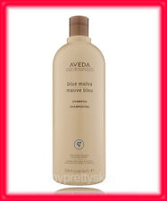 1 LITER AVEDA BLUE MALVA SHAMPOO HAIR NEW & FRESH 33.8 oz. 1 LITER