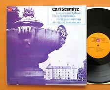 Carl Stamitz Concerto in D Major 3 Symphonies Collegium Aureum 2xLP BHM 29048-4