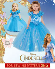 SEWING PATTERN MAKE CINDERELLA COSTUME FOR GIRL~DOLL! FITS AMERICAN GIRL! DRESS