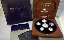 2005 FINE SILVER PROOF SET  ROYAL AUSTRALIA MINT  6500 MINTED -PURE SILVER 0597