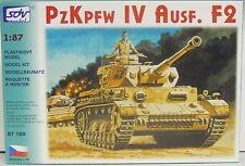 Pz.Kpfw. IV Ausf. F2, HO, 1/87, SDV, Plastikbausatz mit Abziehbildern, *NEUHEIT*