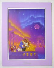 Disney Fine Art Impressions Print-Beauty and the Beast by Manueal Hernandez