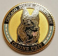 Chicago Police Department PD Canine K-9 Unit Loyalty - Courage - Integrity