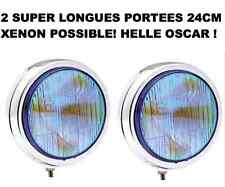 TYPE LIGHTFORCE HELLA CIBIE OSCAR! 2 SUPER PHARES 24CM! XENON OK! QUALITE MARINE