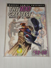 MARVEL COMIC PRESENTS 100 GREATEST ALL TIME #13-10 GRAPHIC NOVEL