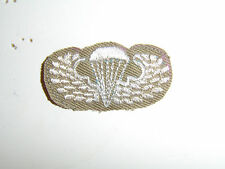b1788 WW 2 US Army Airborne Khaki cotton Paratrooper Wings Parachute PIR A4A17