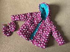 Girls Hello Kitty Winter hooded Jacket and Mittens