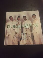 BOYZ II MEN I'll Make Love To You 4 Track cd-single 1994 Free postage