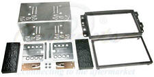 Chevrolet Captiva 06-11 Black Double Din Car Stereo Fitting Kit Facia CT23CV01