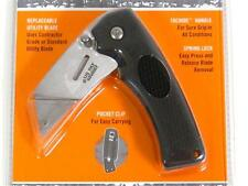 GERBER Black Edge Folding Utility Blade Knife 31-000668