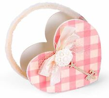Sizzix Bigz L Heart Bag die #658089 Retail $29.99 Retired, SO SWEET!