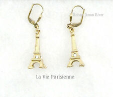 La Vie Parisienne Gold Eiffel Tower Earrings
