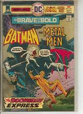 DC Comics Brave & Bold #121 September 1975 Batman & The Metal Men Scarce F+