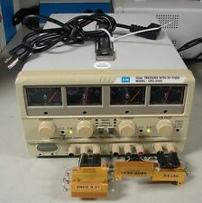 GW GPS3020 Dual Laboratory DC Power Supply 0-30VDC, 0-2A W/5V Fixed LOAD TESTED