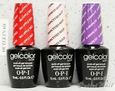 OPI GelColor Kit - SET OF 3 Any Soak Off Gel Nail Colour UV Led Lot  Ship in 24h