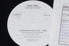 FERDINAND RIES, JAAP SCHRÖDER, SAS BUNGE -Sonaten..- 2xLP Promo Archiv-Copy mint