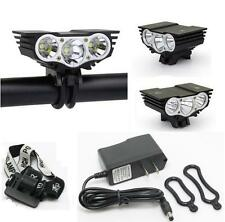 Solarstorm 3xCREE XM-L U2 LED X3 3800Lm 4 Modes Mountain Bike Headlight Headlamp