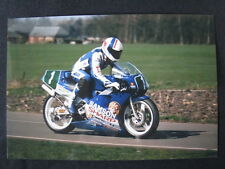 Photo Samson Sharp Honda 250 1989 #1 Wilco Zeelenberg (NED)