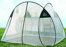 OneTouch White PortableFolding Mosquito Net Insect Camping Tent Indoor 7 Person