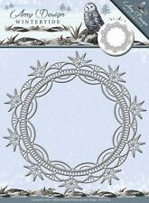 Amy Design Wintertide ICE CRYSTAL FRAME Cutting & Embossing Die   ADD10079