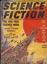 Pulp SI-FI--Science Fiction Aug. 1939-----86