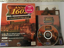 Anno 1602 Creation Of A New World PC ROM Big Box Game Worldwide Fast Post!
