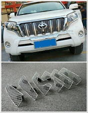 For Toyota Prado FJ150 2014 2015 Front Grille Grill Bezel Honeycomb Mesh Cover