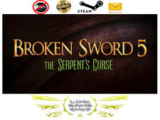 Broken Sword 5 - the Serpent's Curse PC & Mac Digital STEAM KEY -  Region Free