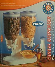 Dual Cereal Dispenser, Dry Food Dispenser