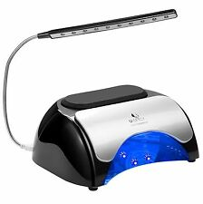 LED UV Nail Dryer USpicy 48W LED UV Nail Lamp for Gel Based Polishes with Cover
