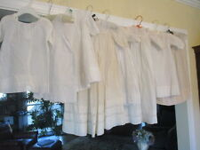 Lot 8 Antique Victorian Edwardian Baby Christening Gown Dresses Lace Embroidery