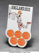 OLYMPIC PINS BADGE 2012 LONDON ENGLAND UK SPORT OF BASKETBALL DUNKING PLAYER-S