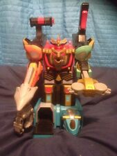 Power Rangers Wild Force Isis Command Megazord Fully Working VGC!