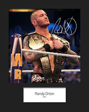 RANDY ORTON #2 (WWE) Signed 10x8 Mounted Photo Print - FREE DELIVERY
