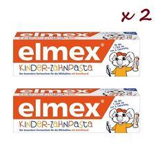 2 x Elmex Kinder-zahnpasta 50ml toothpaste for children