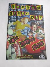 Record Store Day April 18th 2015 Poster Promotional Kosmo/ RedBull  11X17 NEW