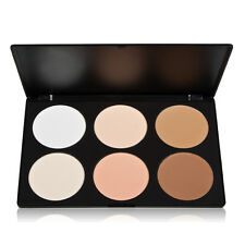 6 Colors Contour Cream Pressed Powder Makeup Kit Concealer Camouflage Palette UK