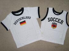 2 T-Shirts von b.p.c. in Weiss mit Motiv~~Grösse 104/110