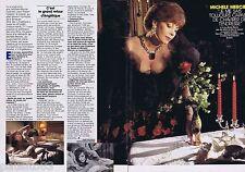 COUPURE DE PRESSE CLIPPING 1989 Michèle Mercier   (2 pages)