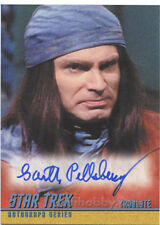 Star Trek TOS Portfolio Prints Autograph Card A256 Garth Pillsbury as Troglyte