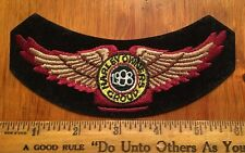 Harley Davidson HOG Patch 1998 Jacket Vest Chevron Emblem Motorcycle Patch